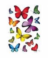 Goedkope x vlinders dieren stickers