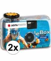 Goedkope x wegwerp onderwater cameras kleuren fotos