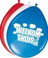Goedkope x welkom thuis ballonnen 10158380
