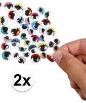 Goedkope x wiebel oogjes gekleurde oogleden stuks