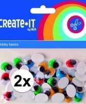 Goedkope x zelfklevende wiebelogen gekleurde wimper stuks