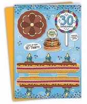 Goedkope xxl d taart kaart jaar 10090912