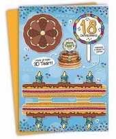 Goedkope xxl d taart kaart jaar