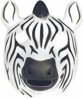 Goedkope zebra masker soft foam