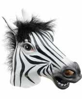 Goedkope zebra masker