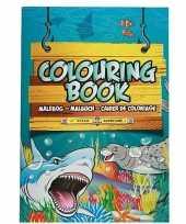Goedkope zeedieren thema a kleurboek tekenboek paginas
