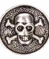 Goedkope zilveren doodshoofd chunk
