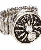 Goedkope zilveren heksen ring volwassenen 10086206