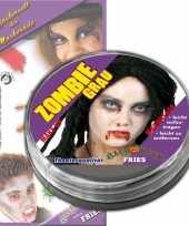 Goedkope zombie schmink grijs