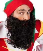 Goedkope zwart gekrulde baard