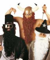 Goedkope zwarte baard snor