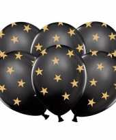 Goedkope zwarte ballonnen gouden sterren stuks 10121611