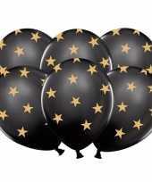 Goedkope zwarte ballonnen gouden sterren stuks 10121612