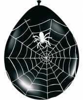 Goedkope zwarte ballonnen spinnenweb stuks