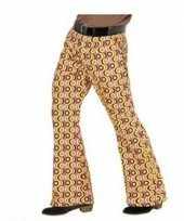 Heren hippie broek retro goedkope maat xxl