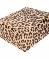 Inpakpapier cadeaupapier panter luipaard goedkope rol