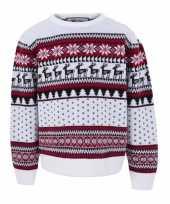 Kersttrui kinderen nordic goedkope wit
