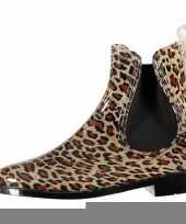 Lage regenlaarzen maat luipaard panter goedkope meisjes