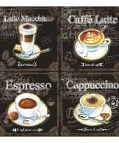 Servetten soorten koffie goedkope laags stuks
