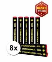 X goedkope bengaalse fakkels geel