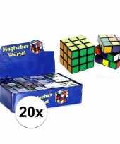 X stuks goedkope kubus puzzels 10123230