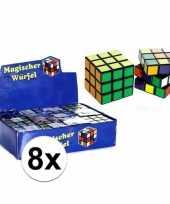 X stuks goedkope kubus puzzels